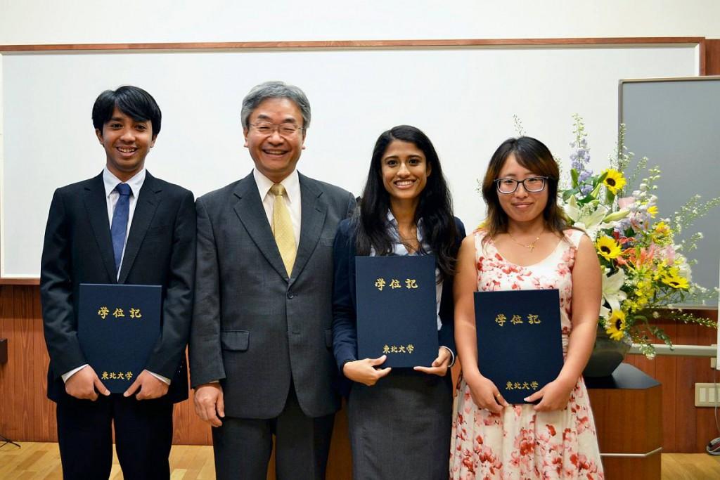 卒業式 2015Sep