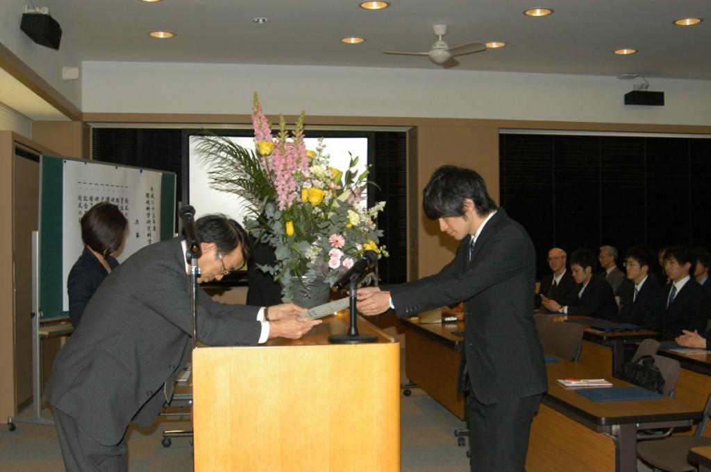 卒業式 2012