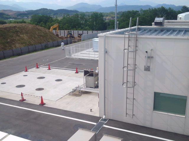 産総研 福島再生可能エネルギー研究所見学